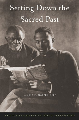 Setting Down the Sacred Past: African-American Race Histories